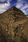 金字塔跨步 图库摄影