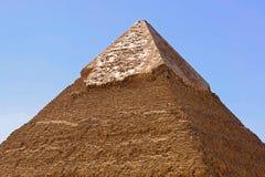 金字塔顶层 库存图片