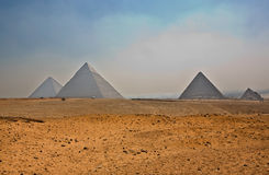 金字塔高原 库存照片