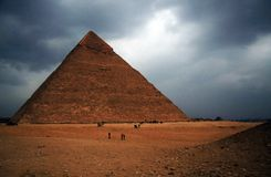 金字塔 库存图片