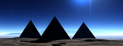 金字塔7 库存照片