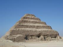 金字塔sakkarra步骤 库存图片