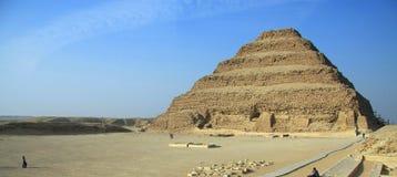 金字塔saqquara 免版税图库摄影