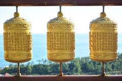 金寺庙响铃 免版税库存照片