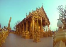 金寺庙泰国 图库摄影