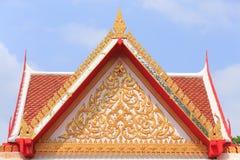 金寺庙泰国 免版税库存照片