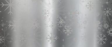 金属与星的纹理背景 免版税库存照片