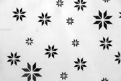 金属与样式的墙壁纹理 免版税库存照片