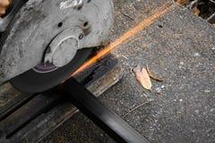 金属切削的机器 库存图片