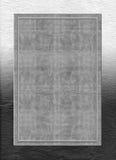 金属化与框架和纸纹理的银色背景 免版税库存照片