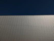 金属化墙壁 库存图片