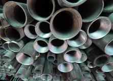 金属化管道 免版税库存图片