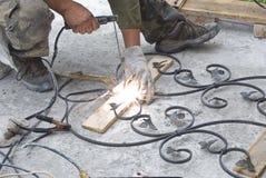 金属区分焊接 库存照片