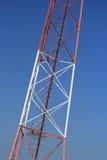 金属塔的片段 免版税库存图片