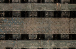 金属墙壁工业纹理 免版税库存图片