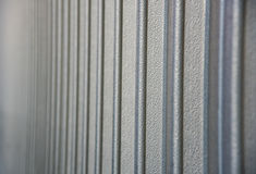 金属墙壁纹理 免版税库存照片