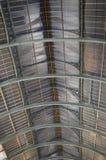 金属天花板细节 库存图片