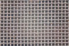 金属密集的滤网,白色颜色 库存照片