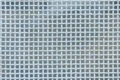 金属密集的滤网,白色颜色 图库摄影