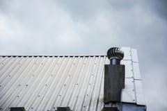 金属屋顶 免版税库存图片