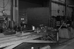 金属工作机器 库存图片