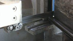 金属带锯切口 影视素材