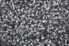 金属废料削片 免版税库存图片