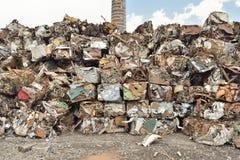 金属废料 免版税库存图片