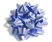 金属弓的圣诞节 库存图片