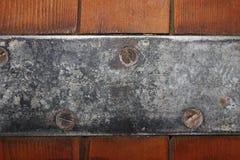 金属托架 库存照片