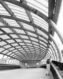 金属拱道样式 图库摄影