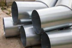 金属排水管 库存图片