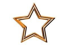 金属星 免版税库存图片