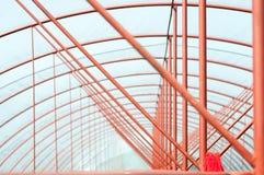 金属曲拱设计 免版税库存照片