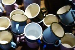 金属杯子 图库摄影