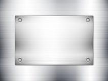 金属板料和板材 免版税库存照片