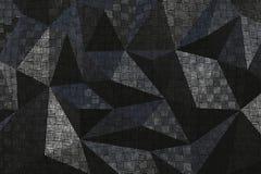 金属样式摘要几何背景 免版税库存图片