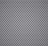 金属格栅无缝的模式。 免版税库存照片