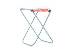 类金属框架便携式的折叠的凳子 库存图片