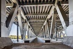 金属桥梁建筑 图库摄影