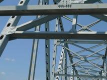 金属桥梁细节 免版税图库摄影