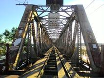 金属桥梁 库存图片