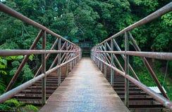 金属桥梁 免版税库存图片
