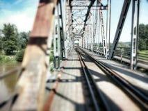 金属桥梁 免版税图库摄影