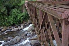 金属桥梁IV 库存照片