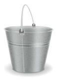 金属桶 免版税库存图片