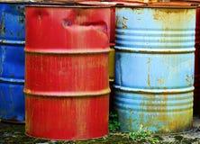 金属桶 图库摄影