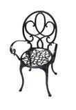 金属椅子。 库存照片