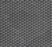 金属模式无缝的纹理 库存图片