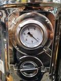 金属测压器 免版税库存照片
